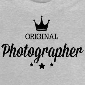 Original three star deluxe photographer Shirts - Baby T-Shirt