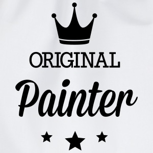 Original three star deluxe painter Shirts - Drawstring Bag