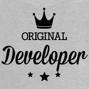 Original three star deluxe developer Shirts - Baby T-Shirt