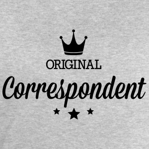 Original three star deluxe correspondent T-Shirts - Men's Sweatshirt by Stanley & Stella