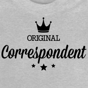 Original three star deluxe correspondent Shirts - Baby T-Shirt