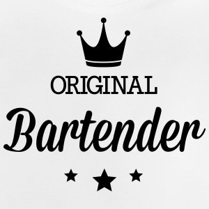 Original three star deluxe bartender Shirts - Baby T-Shirt