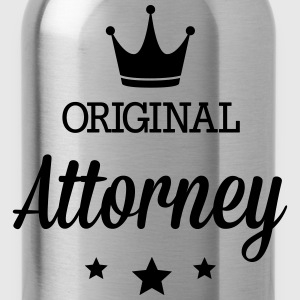 Original three star deluxe Attorney Shirts - Water Bottle