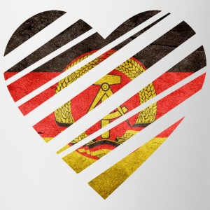 East Germany Heart T-Shirts - Mug