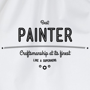 Best painter - craftsmanship at its finest T-Shirts - Drawstring Bag