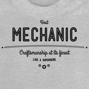 Best mechanic as a super hero Shirts - Baby T-Shirt