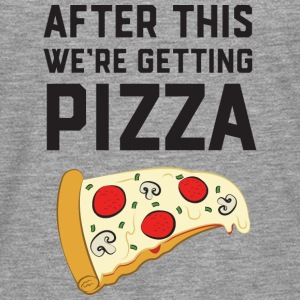 After This We're Getting Pizza T-Shirts - Männer Premium Langarmshirt