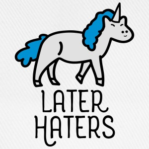 Later Haters (Unicorn) T-shirts - Baseballcap
