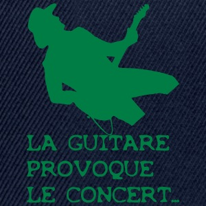 GUITARE Tee shirts - Casquette snapback