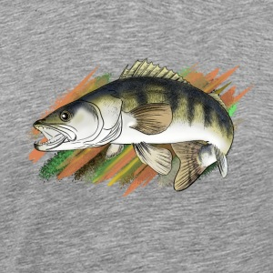 pike-perch Vêtements de sport - T-shirt Premium Homme