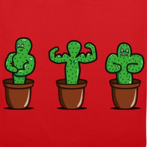 cactus with muscles T-Shirts - Tote Bag