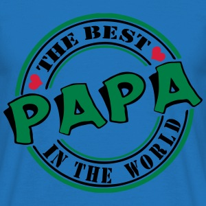 Papa The best in the worl Pullover & Hoodies - Männer T-Shirt