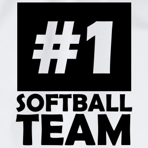 number one softball team T-Shirts - Drawstring Bag