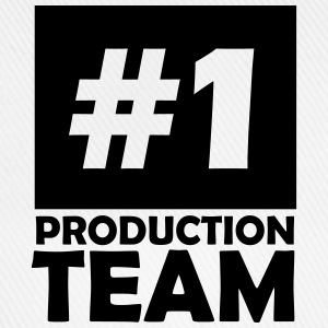 number one production team T-Shirts - Baseball Cap