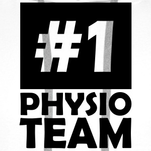 number one physio team T-Shirts - Men's Premium Hoodie
