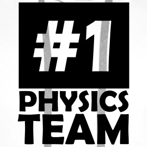 number one physics team T-Shirts - Men's Premium Hoodie