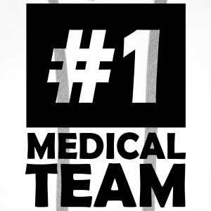 number one medical team T-Shirts - Men's Premium Hoodie