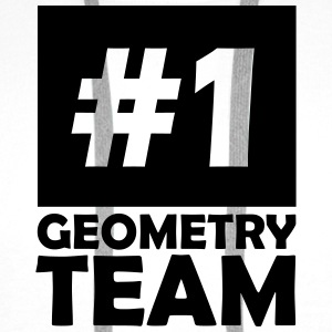 number one geometry team T-Shirts - Men's Premium Hoodie