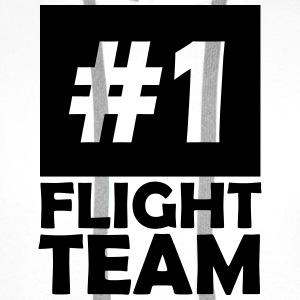 number one flight team T-Shirts - Men's Premium Hoodie