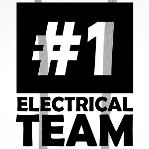 number one electrical team T-Shirts - Men's Premium Hoodie