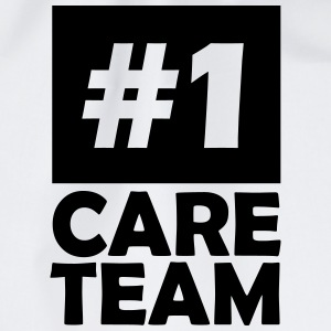 number one care team T-Shirts - Drawstring Bag