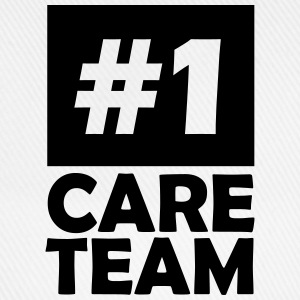 number one care team T-Shirts - Baseball Cap
