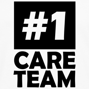 number one care team T-Shirts - Men's Premium Longsleeve Shirt