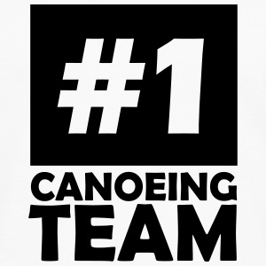 number one canoeing team T-Shirts - Men's Premium Longsleeve Shirt