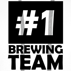 number one brewing team T-Shirts - Men's Premium Hoodie