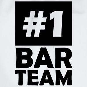 number one bar team T-Shirts - Drawstring Bag