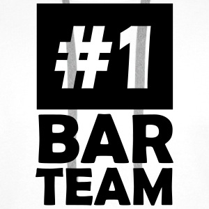 number one bar team T-Shirts - Men's Premium Hoodie