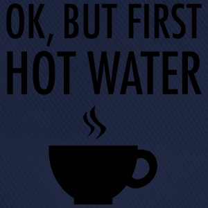 Ok, but first hot water Toppe - Baseballkasket