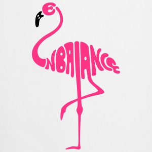 Flamingo be in balance - Kochschürze