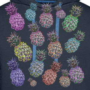 pineapple pattern - Men's Premium Hoodie