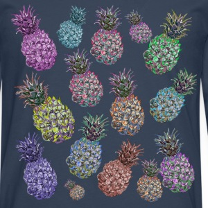 pineapple pattern - Men's Premium Longsleeve Shirt