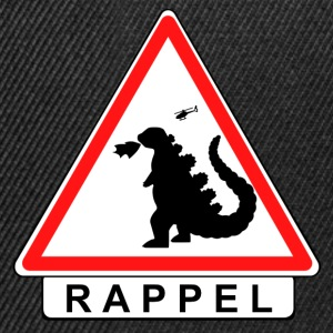 Attention Godzilla!  Tee shirts - Casquette snapback
