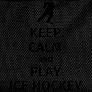 keep calm and play ice hockey T-shirts - Rygsæk til børn