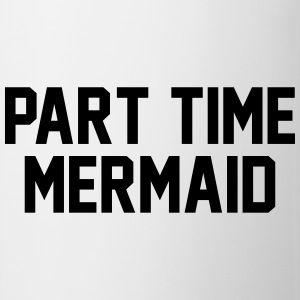 Part time mermaid T-shirts - Kop/krus