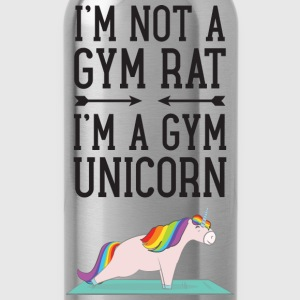 I'm Not A Gym Rat - I'm A Gym Unicorn T-shirts - Drinkfles