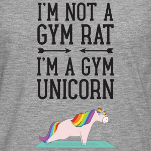 I'm Not A Gym Rat - I'm A Gym Unicorn Tee shirts - T-shirt manches longues Premium Homme