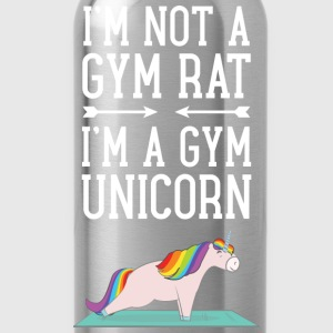 I'm Not A Gym Rat - I'm A Gym Unicorn T-shirts - Vattenflaska