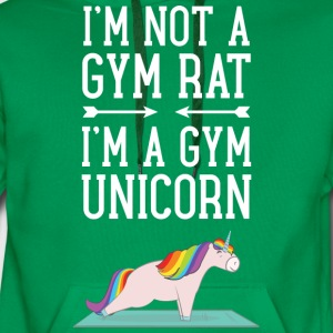 I'm Not A Gym Rat - I'm A Gym Unicorn T-Shirts - Men's Premium Hoodie