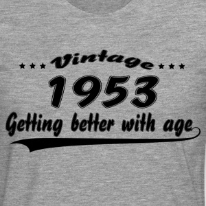 Vintage 1953 Getting Better With Age T-Shirts - Men's Premium Longsleeve Shirt