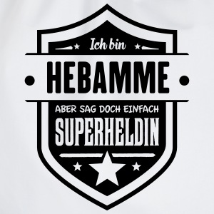 Super Hebamme T-Shirts - Turnbeutel