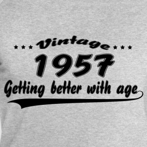 Vintage 1957 Getting Better With Age T-Shirts - Men's Sweatshirt by Stanley & Stella