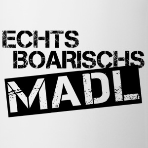 Echts Boarischs Madl - black - Tasse