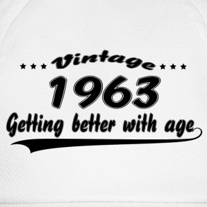 Vintage 1963 Getting Better With Age T-Shirts - Baseball Cap
