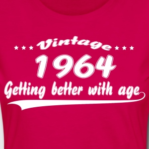 Vintage 1964 Getting Better With Age T-Shirts - Women's Premium Longsleeve Shirt
