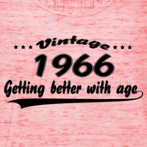 Vintage 1966 Getting Better With Age T-Shirts - Women's Tank Top by Bella