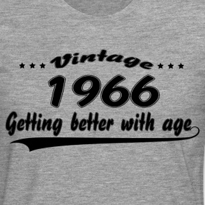 Vintage 1966 Getting Better With Age T-Shirts - Men's Premium Longsleeve Shirt
